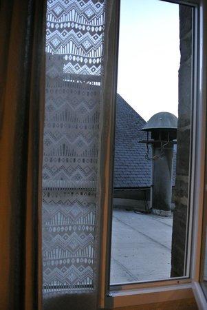 La Haye-du-Puits, Frankreich: vu sur les toits depuis la chambre 6