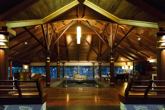 Niraamaya Retreats: Reception in Evening