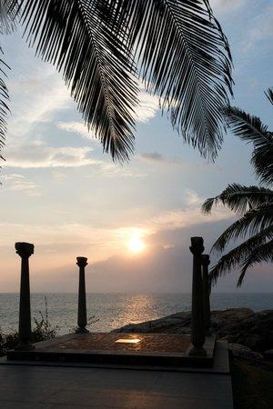 Niraamaya Retreats: Sunset over Yoga Deck