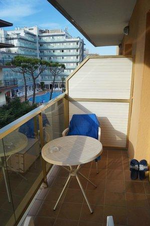 Hotel Bon Repos: Balcony