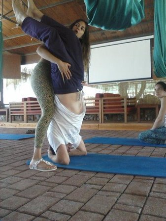 Siddhi Yoga: some things are upside down :-P