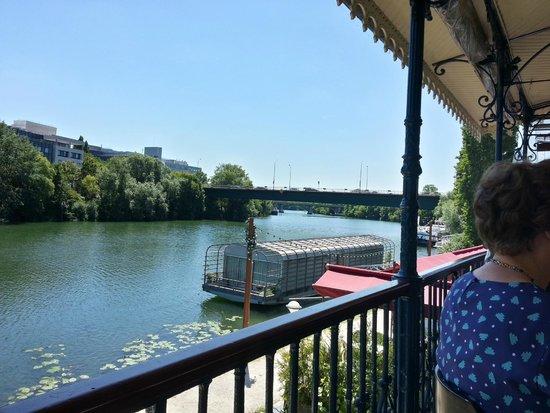 Maison fournaise : Vue de la Seine