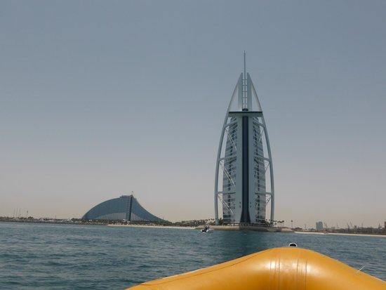 The Yellow Boats : Burj al Arab and Jumeirah Beach