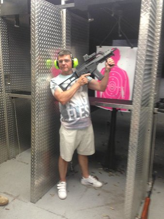Battlefield Vegas: 365 machine gun