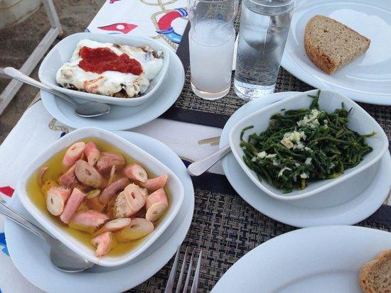 Balikcinin Yeri Restaurant: Appetizer
