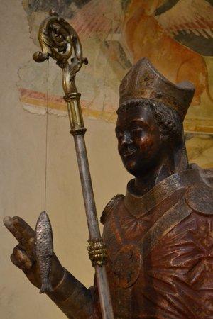 Basilica di San Zeno Maggiore: San Zeno che ride