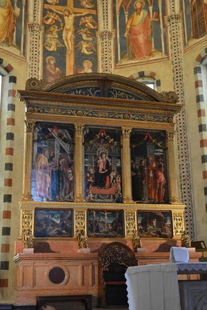 Basilica di San Zeno Maggiore: Pala del Mantegna
