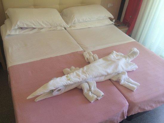 Hotel Clipper: Un meraviglioso cambio degli asciugamani......