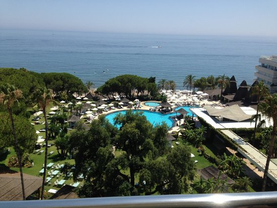 Gran Melia Don Pepe: View from the balcony