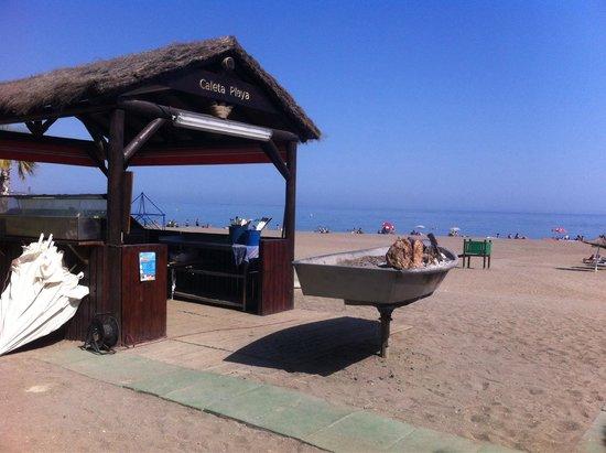 Caleta Playa: Griglia