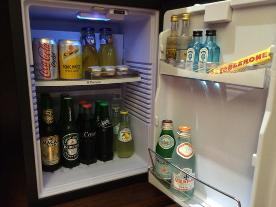 Grand Hyatt Macau: Mini bar (not included in room rate)