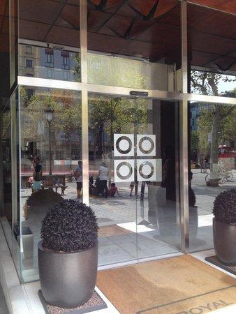 Hotel Royal Passeig de Gracia: Entrance