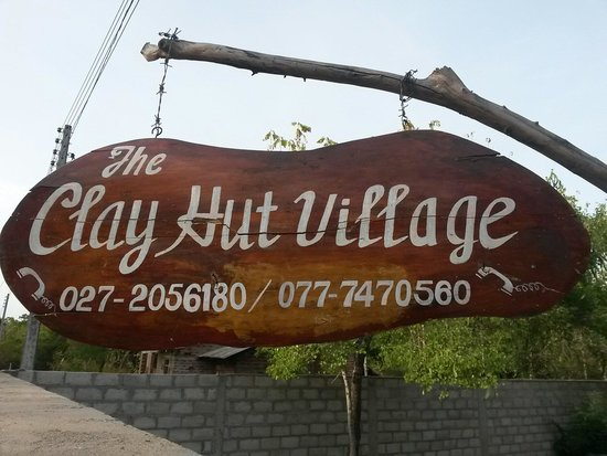 Clay Hut Village : Difficult to find but easy to phone