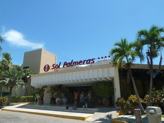 Haupteingang Sol Palmeras