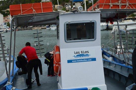 Hotel Les Illes : Barco del hotel