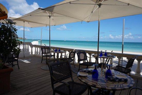Sandals Grande Antigua Resort & Spa : Bayside breakfast view