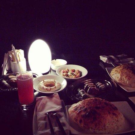 Sukar Pasha: Late dinner