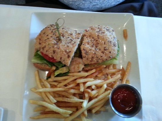 Opus: Shrimp Sandwich