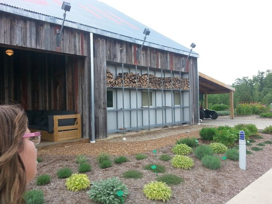 firefly grill: herb gardens and firewood