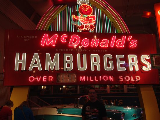 Henry-Ford-Museum: Old McDonalds sign