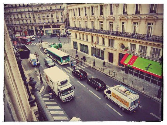 Normandy Hotel: Вид на Опера