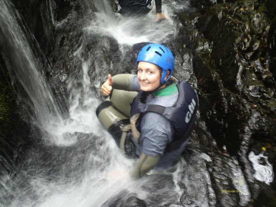 Snowdonia Adventure Activities: Spent most of my time falling on my bum!
