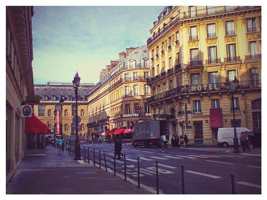 Normandy Hotel: Отель и Лувр