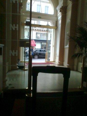 Normandy Hotel: Вход в отель