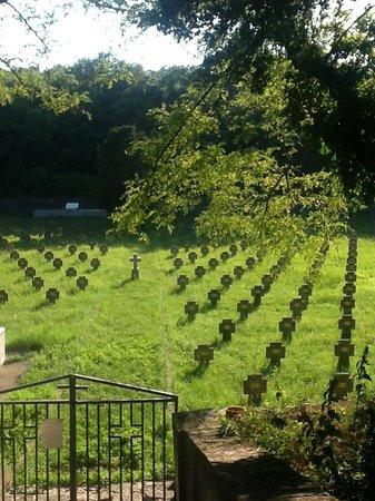 Prosecco, Italy: cemetery