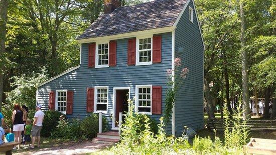 Historic Cold Spring Village : Une des nombreuses maison.