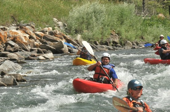 Geyser Whitewater Expeditions: Kayaking the Gallatin River
