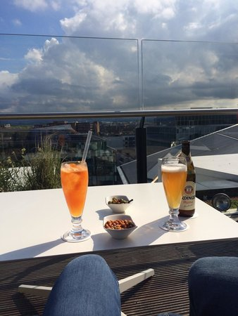 The Marker Hotel: Rooftop terrace on our last day