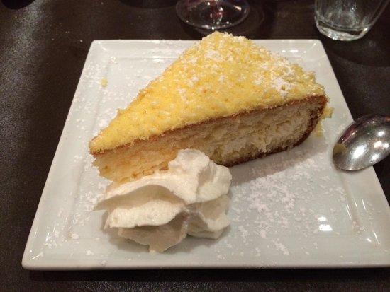 Il convivio : Gâteau au lemoncello. Un péché de gourmandise!