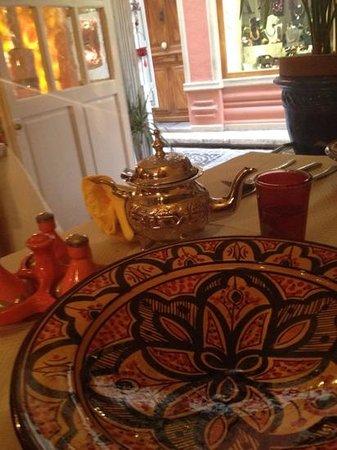 les cinq epices : tè alla menta