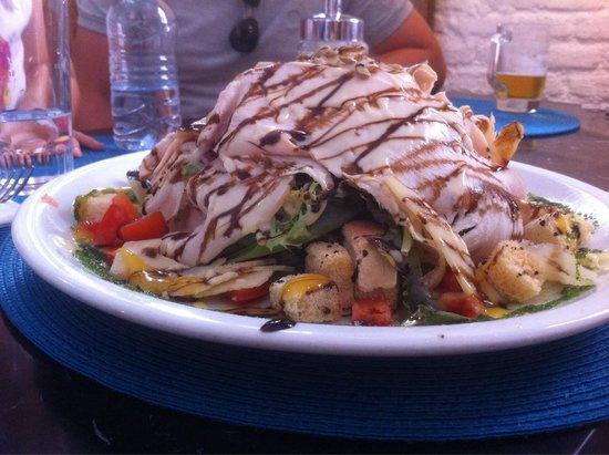 L'atelier Clandestino Gourmet: Ensalada cesar