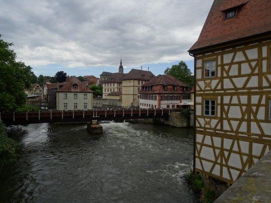 Altes Rathaus (vecchio Municipio) di Bamberg.