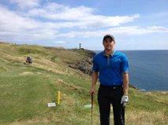 Old Head Golf Links: Me at #16 - Goosgorm