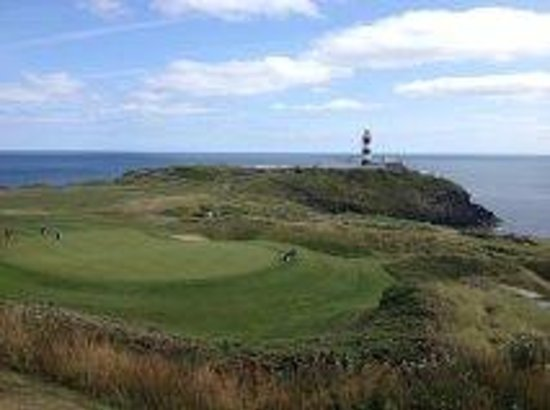 Old Head Golf Links: View of 18th & 17th Greens