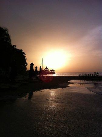 Sandals Royal Plantation: jamaican sunset