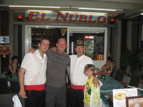 El Nublo: Marco Pete Danny & Matt
