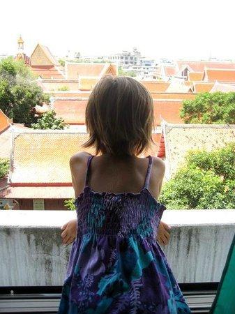Bella Bella House: Overlooking the Temple's Roof Tops