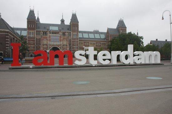 Amsterdam Marriott Hotel : Утром можно сделать потрясающие снимки
