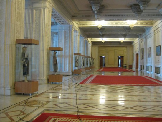 Palace of Parliament: One of the many rooms