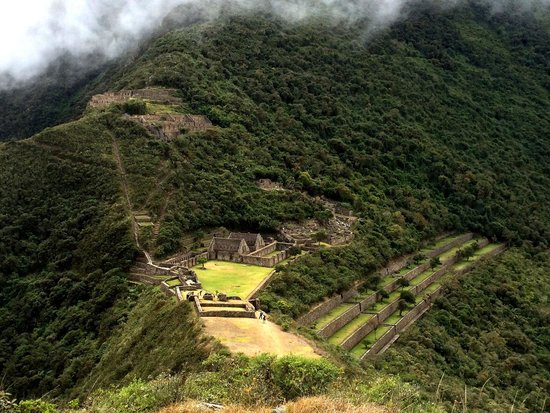 Choquequirao: The perfectly Kept site