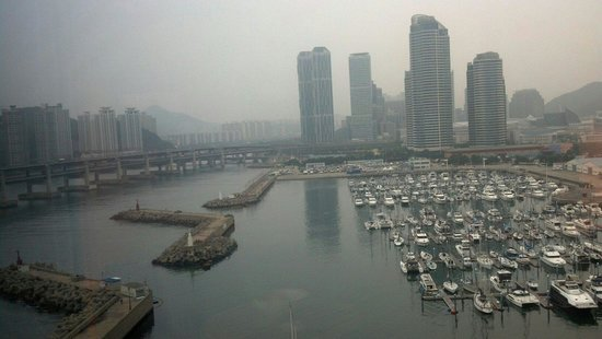 Park Hyatt Busan: View from 6th floor