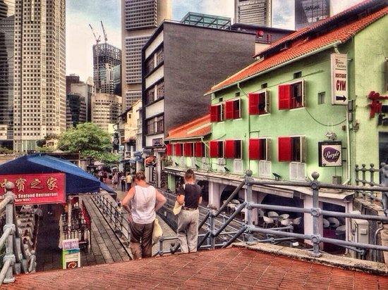 Boat Quay restorants