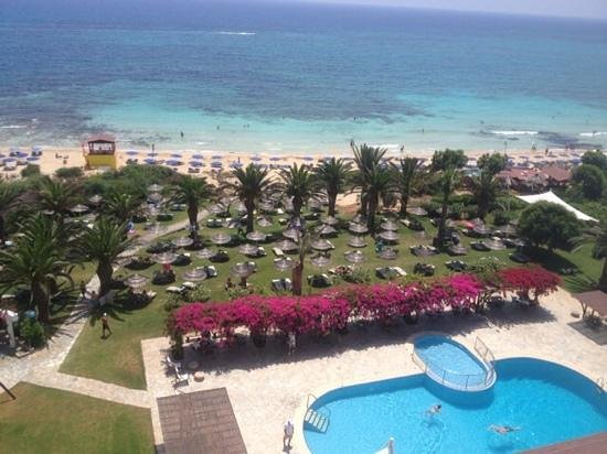 Alion Beach Hotel: View from Balcony, 4th floor
