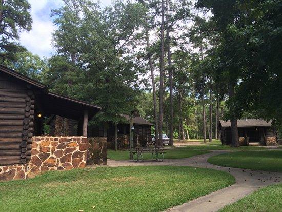 Bon Caddo Lake State Park: Caddo State Park Cabins
