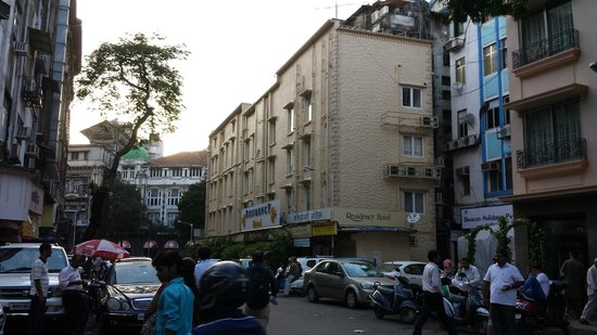 Residency Hotel: Outside view