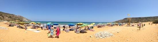 Ramla Bay: Sandy beach